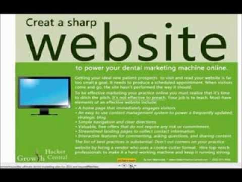 Dental Web Marketing - The Ultimate Dental Marketing Plan - YouTube