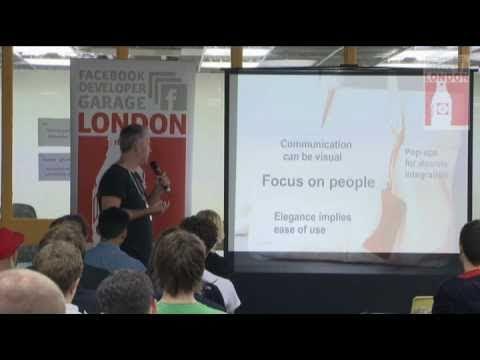 Todd Chaffee - Facebook Developer Garage London Se...