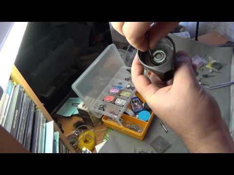 Ремонт рыболовных катушек своими руками ( маленькие хитрости)