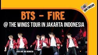 Video BTS - Fire @ The Wings Tour In Jakarta, Indonesia download MP3, 3GP, MP4, WEBM, AVI, FLV Juli 2018