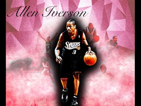 """Allen Iverson Career Highlights """"Where Ya At"""" Future ft. Drake [HD]"""