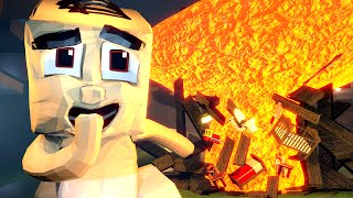 minecraft   who s your daddy baby blows up the house blowing up baby house