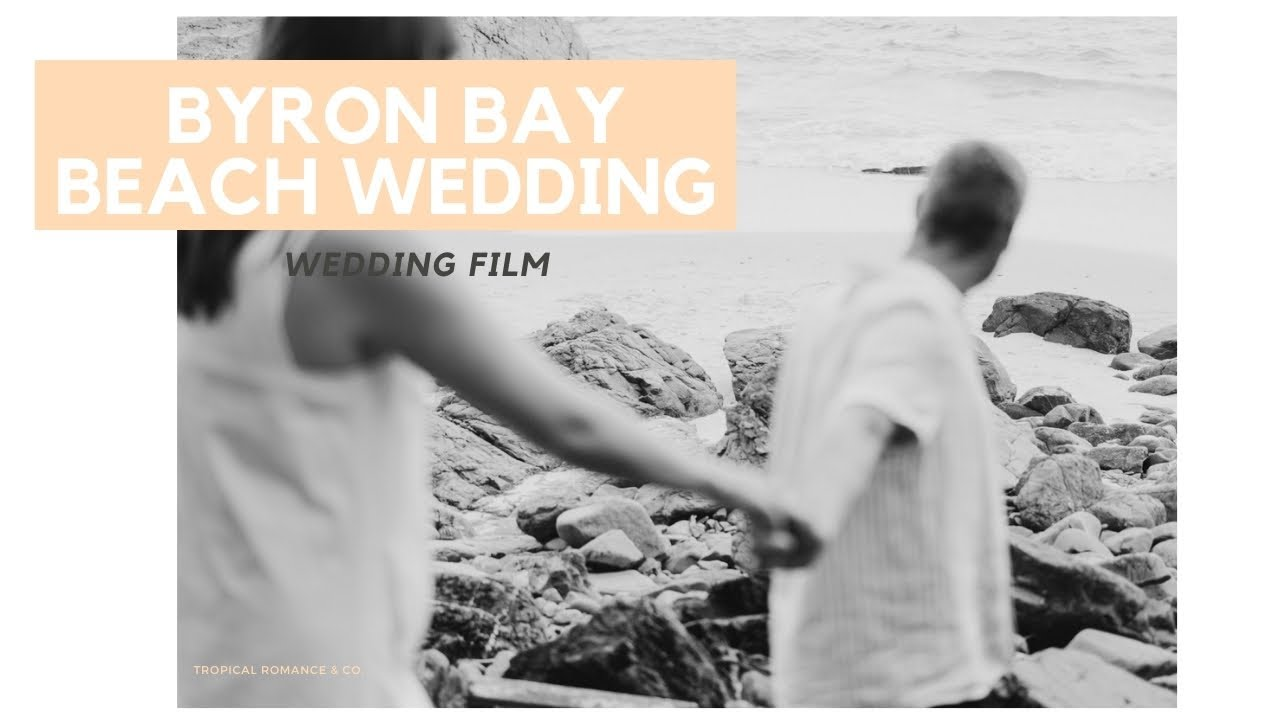 Byron Bay Barefoot Beach Elopement - Photography and Videography