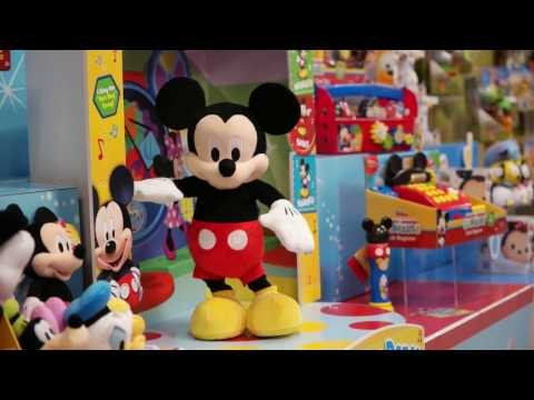 Hot Diggity Dog Dancing Mickey Mouse Toy Demo From Just Play