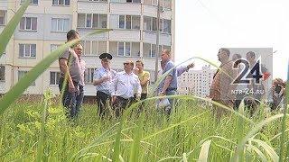 Мэр Нижнекамска проверил, как идет строительство новой школы