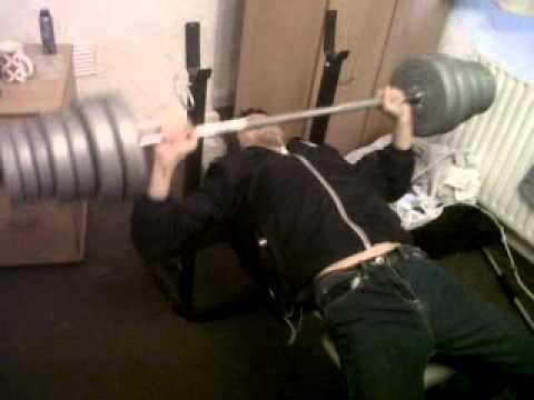 Big Man Lifting Weights