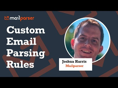 Custom Email Parsing Rules in mailparser.io