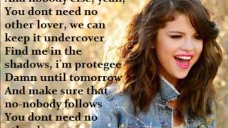 Selena Gomez - Undercover (LYRICS ON SCREEN!)
