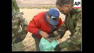 ARGENTINA: BODIES RECOVERED FROM 1947 ANDES CRASH SITE
