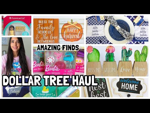 MUST WATCH DOLLAR TREE HAUL LOTS OF NEW FINDS JULY 2019
