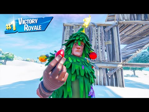 Christmas Lt. Evergreen Skin Solo Win Full Gameplay Fortnite Chapter 2 Season 11 No Commentary PS4
