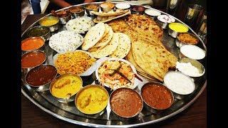 AAOJI KHAOJI Baahubali Thali, Kumbhkaran Thali Pune | Menu | Price| Challenge Best Thali in India