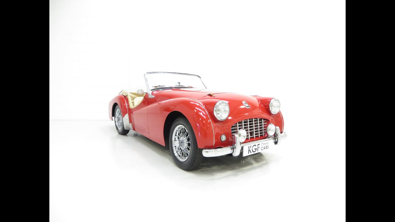 A Very Unique Works Designated Triumph Tr3 With Exceptional