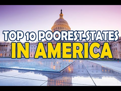 Top 10 Poorest States In America