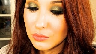 wearable green smokey eye tutorial   jaclyn hill