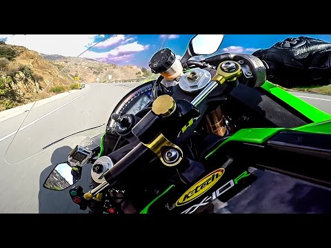 First Ride With Kawasaki Ninja Zx10R Unleash The Beast