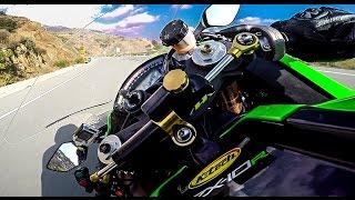 First Ride With Kawasaki Ninja Zx10R