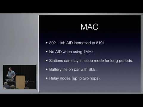 What Is Wi-Fi HaLow-802.11ah? | Scott McDermott | WLPC US Phoenix 2017