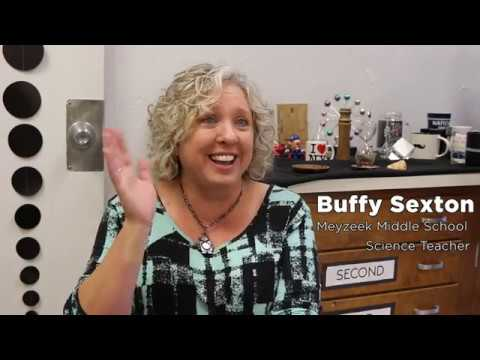 JCPS Gives: Buffy Sexton, Meyzeek Middle School