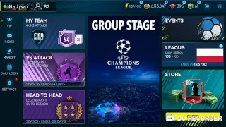 LIVE!!! FIFA MOBILE 19 CHAMPIONS LEAGUE EVENT I NIE TYLKO