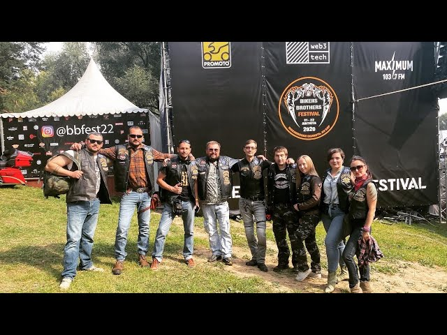 2020 Bikers Brothers  Free Chapter 1st Moscow Russia