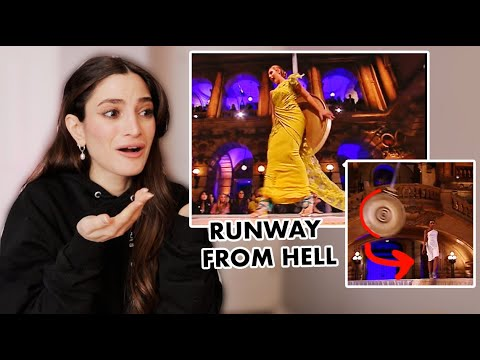 Model Gets HIT During EXTREME Runway On America's Next Top Model - Photographer REACTS
