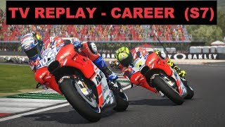 MotoGP Mod 2018 | Career #116 | MUGELLO | Race 6/18 | TV REPLAY GAME