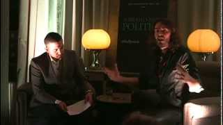 Russell Brand chats with The Huffington Post UK Political Director Mehdi Hasan and a live audience