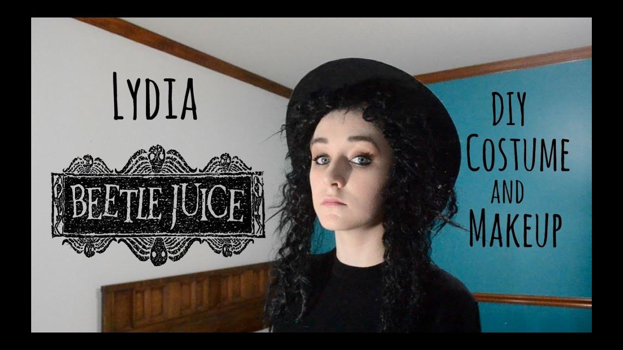 sc 1 st  YouTube & Lydia (Beetlejuice) DIY Costume/Makeup - YouTube