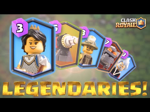 lego clash royale legendaries showcase youtube. Black Bedroom Furniture Sets. Home Design Ideas