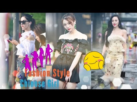 China fashion trends 2019 | Beautiful Girls with Awesome Walking Outfits | TikTok video Ep9