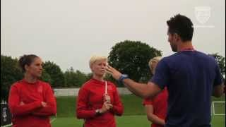 Studio 90: Mnt Players Visit Wnt Training In Glasgow