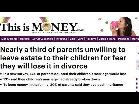 The economic effects of mass divorce - Inheritance