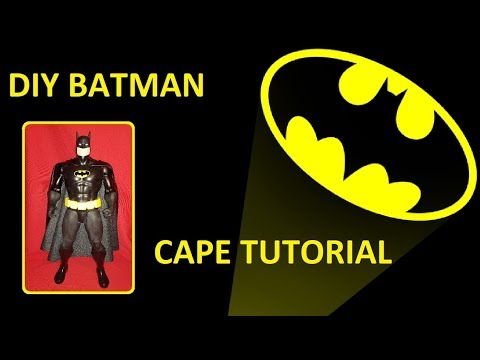 DIY BATMAN CAPE TUTORIAL