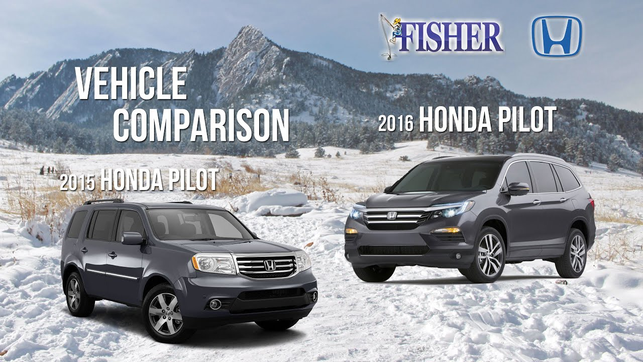 2016 honda pilot vs 2015 honda pilot features and. Black Bedroom Furniture Sets. Home Design Ideas