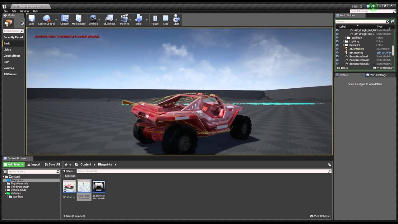 Ue4 problem with collision youtube ue4 problem with collision malvernweather Choice Image