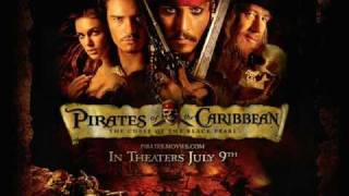 Pirates of the Caribbean 1 Curse of the Black Pearl Soundtrack Remix