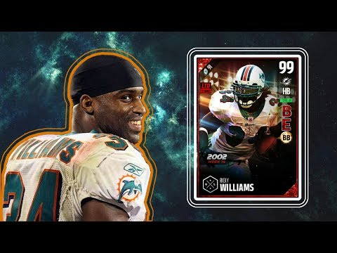 BOSS RICKY WILLIAMS GAMEPLAY! BEST RB IN THE GAME?! Madden 17 Ultimate Team