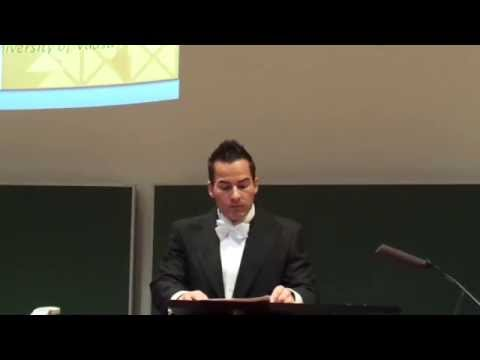 Klaus Grobys Public Defense of doctoral thesis on 17.December 2014: LECTIO