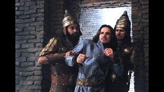 O Rico e Lázaro, Neusta conspira contra Nabucodonosor e Joaquim é preso