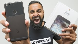 One of SuperSaf TV's most viewed videos: Google Pixel UNBOXING