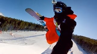 GoPro HD: Tom Wallisch Course Preview at Winter Dew Tour 2011