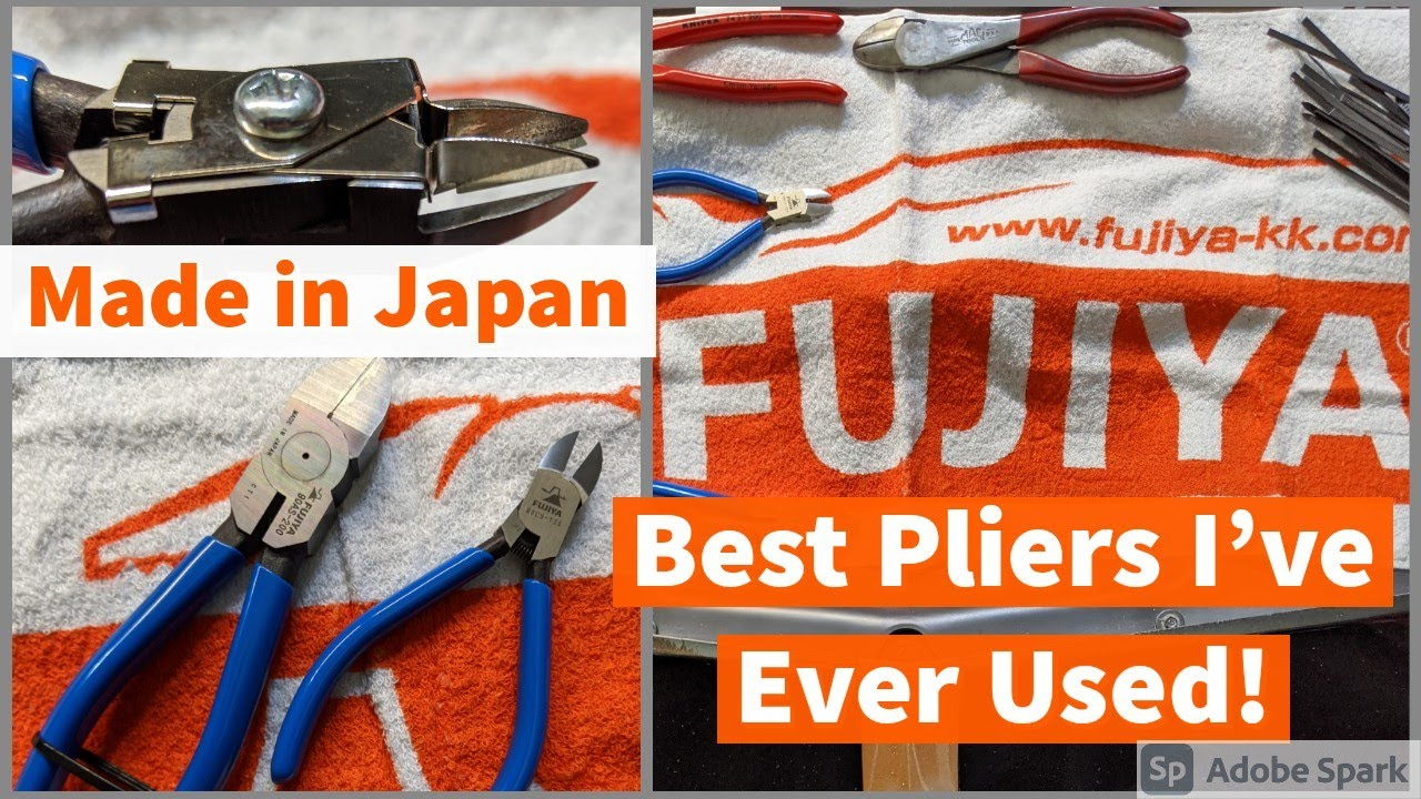 Download Best Pliers I have Ever Used Made in Japan FUJIYA Flush Cuts You Havent seen this before