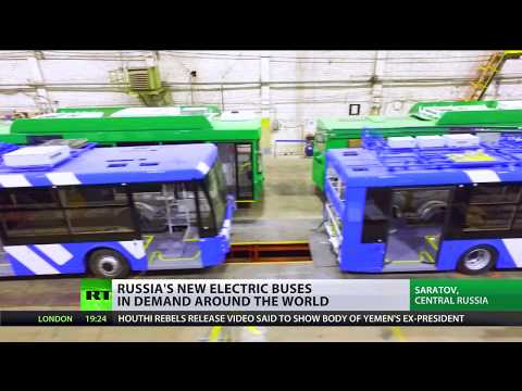 It's Electric: New Russian Bus In Demand Around The World