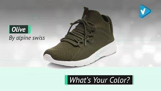 Alpine Swiss Enzo Mens Fashion Sneakers Lightweight Knit Lace Up Tennis Shoes | Fashion Sneakers