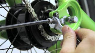 ElliptiGO Elliptical Bicycle Support Video #8 - Installing the ElliptiGO 8S Rear