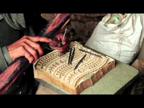 Florenz · Hand Block printing in India