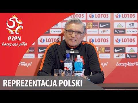 Konferencja reprezentacji Polski (Warszawa, 19.03.2017)