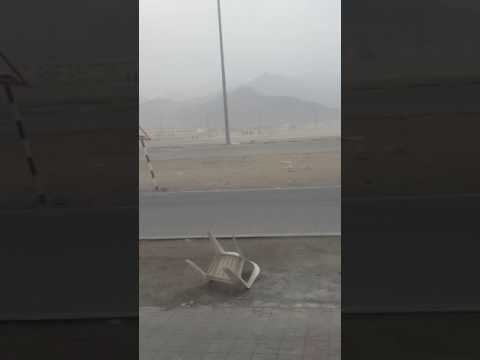 Very wind in dubai