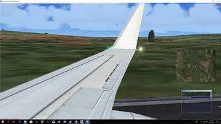 FSX:Boeing 737 Flight with Autopilot from Bocota to Cali Pilot Peku